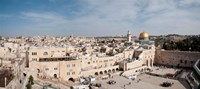 "Wailing Wall, Jerusalem, Israel by Panoramic Images - 36"" x 16"""