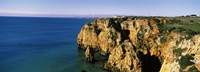 "Rock formations in the ocean, Lagos, Algarve, Portugal by Panoramic Images - 36"" x 12"""