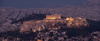 "Acropolis of Athens, Athens, Attica, Greece by Panoramic Images - 36"" x 12"""