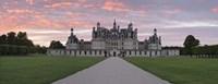 """Facade of a castle, Chateau Royal De Chambord, Loire-Et-Cher, Loire Valley, Loire River, Region Centre, France by Panoramic Images - 36"""" x 12"""""""