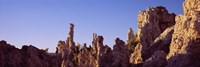 "Low angle view of rock formations, Mono Lake, California, USA by Panoramic Images - 36"" x 12"""