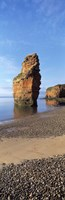 "Pebbles on the beach, Ladram Bay, Devon, England by Panoramic Images - 12"" x 36"" - $34.99"