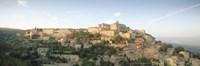 """Hilltop village, Gordes, Vaucluse, Provence-Alpes-Cote d'Azur, France by Panoramic Images - 36"""" x 12"""""""