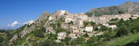Low angle view of a town, Speloncato, Balagne, Haute-Corse, Corsica, France by Panoramic Images - various sizes