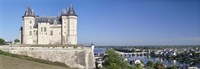 "Castle in a town, Chateau de Samur, Saumur, Maine-Et-Loire, Loire Valley, Pays-De-La-Loire, Centre Region, France by Panoramic Images - 36"" x 12"""