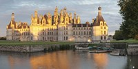 "Castle at the waterfront, Chateau Royal de Chambord, Chambord, Loire-Et-Cher, Loire Valley, Loire River, Centre Region, France by Panoramic Images - 36"" x 12"""