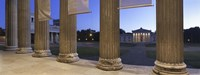 "Propylaeen and Glyptothek, Koenigsplatz, Munich, Bavaria, Germany by Panoramic Images - 36"" x 12"""
