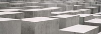 Holocaust memorial, Monument to the Murdered Jews of Europe, Berlin, Germany Fine Art Print