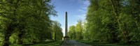 "Obelisk at a castle, Castle Howard, Malton, North Yorkshire, England by Panoramic Images - 36"" x 12"""