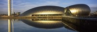"Reflection of the Glasgow Science Centre in River Clyde, Glasgow, Scotland by Panoramic Images - 36"" x 12"""