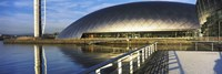 """Close Up of the Glasgow Science Centre in River Clyde, Glasgow, Scotland by Panoramic Images - 36"""" x 12"""""""