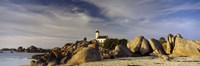 "Pontusval Lighthouse, Brignogan-Plage, Finistere, Brittany, France by Panoramic Images - 36"" x 12"""