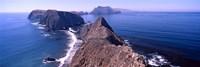 "Islands in the ocean, Anacapa Island, Santa Cruz Island, California, USA by Panoramic Images - 36"" x 12"", FulcrumGallery.com brand"