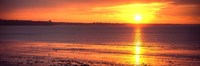 Sunrise over the beach, Cap Coz, Fouesnant, Finistere, Brittany, France by Panoramic Images - various sizes