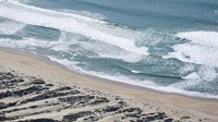 """Aerial view of Pismo Beach, San Luis Obispo County, California, USA by Panoramic Images - 36"""" x 12"""""""