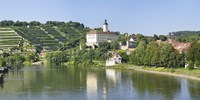 """Horneck Castle, Gundelsheim, Neckar River, Baden-Wurttemberg, Germany by Panoramic Images - 36"""" x 12"""" - $34.99"""