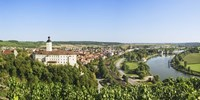 "Gundelsheim, Neckar River, Baden-Wurttemberg, Germany by Panoramic Images - 36"" x 12"""