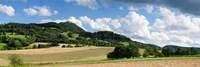 Castle on a hill, Teck Castle, Kirchheim unter Teck, Swabian Alb, Baden-Wurttemberg, Germany Fine Art Print