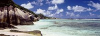"""Anse Source d'Argent Beach, La Digue Island, Seychelles by Panoramic Images - 36"""" x 12"""" - $34.99"""
