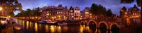 """Amsterdam at Dusk, Netherlands by Panoramic Images - 48"""" x 8"""" - $34.99"""