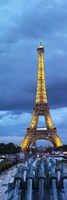 Eiffel Tower, Paris, Ile-de-France, France Fine Art Print