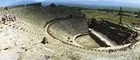 """Ancient theatre in the ruins of Hierapolis, Pamukkale,Turkey (horizontal) by Panoramic Images - 36"""" x 12"""""""