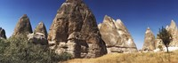 """Close up of rock formations in Cappadocia, Central Anatolia Region, Turkey by Panoramic Images - 36"""" x 12"""""""