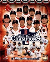 Boston Red Sox 2013 World Series Champions Composite Framed Print