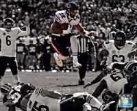 Matt Forte 2013 Spotlight Action Fine Art Print