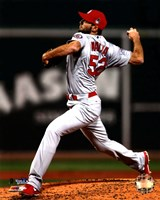 Michael Wacha Game 2 of the 2013 World Series Action Fine Art Print