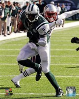 Geno Smith running 2013 Fine Art Print