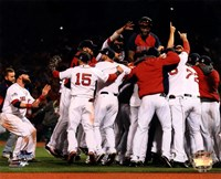 Boston Red Sox winning Game Six of the 2013 World Series Fine Art Print