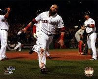 """Jonny Gomes Game 6 of the 2013 World Series Action - 10"""" x 8"""""""