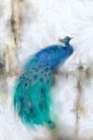 Jewel Plumes I Fine Art Print