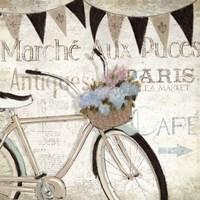 French Flea Market I Framed Print
