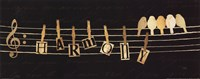 """Birds Harmony I by Pela - 20"""" x 8"""""""