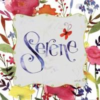 """Serene by Anne Tavoletti - 12"""" x 12"""""""