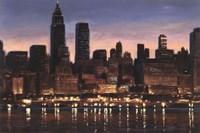 Manhattan Reflection Fine Art Print