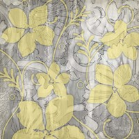 Yellow & Gray II Fine Art Print