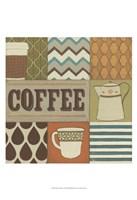 "13"" x 19"" Coffee Art"