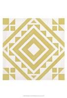 "Modern Quilt I by June Erica Vess - 13"" x 19"", FulcrumGallery.com brand"
