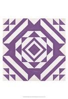 "Modern Quilt VII by June Erica Vess - 13"" x 19"", FulcrumGallery.com brand"