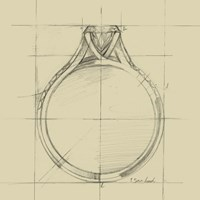 Ring Design II Fine Art Print