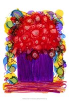 "Venetian Reds I by Cheryl Baynes - 13"" x 19"""