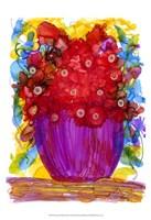 """Venetian Reds II by Cheryl Baynes - 13"""" x 19"""""""