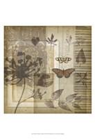 "Small Notebook Collage I by Jennifer Goldberger - 13"" x 19"""