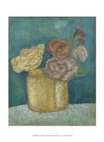 Flower Market I Framed Print