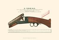 Antique Pistol IV Fine Art Print