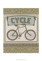 "Cycle by June Erica Vess - 13"" x 19"""
