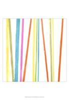 """Cabana Stripes I by June Erica Vess - 13"""" x 19"""", FulcrumGallery.com brand"""